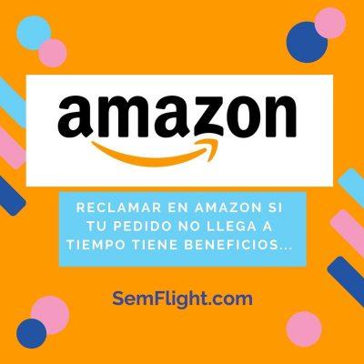Pedido de Amazon no llega a tiempo ¿Qué debemos hacer?