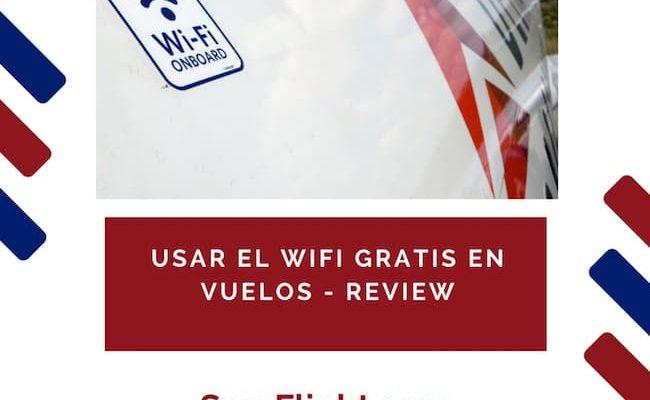 Cómo obtener Wifi Gratis en Vuelos dentro de Estados Unidos